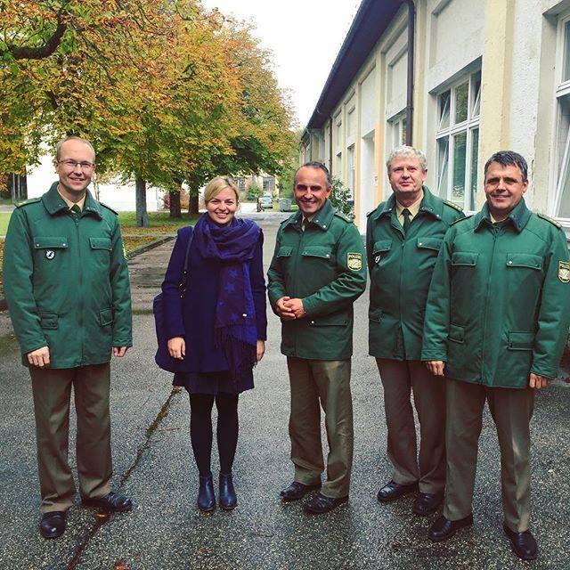 Besuch bei der BePo Dachau