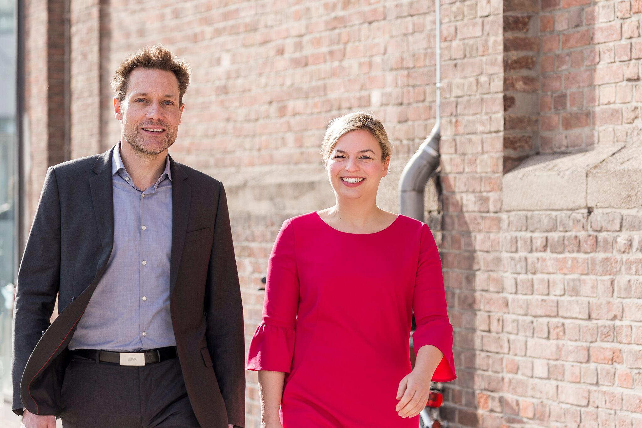 Ludwig Hartmann und ich führen die Grünen im Landtagswahlkampf 2018. Danke für mein tolles Ergebnis von knapp 90% bei der Grünen Urwahl!