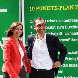 Bundestagswahl: Darum Grün.