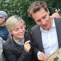 Für Bauern, Bienen und Bayern das Beste!