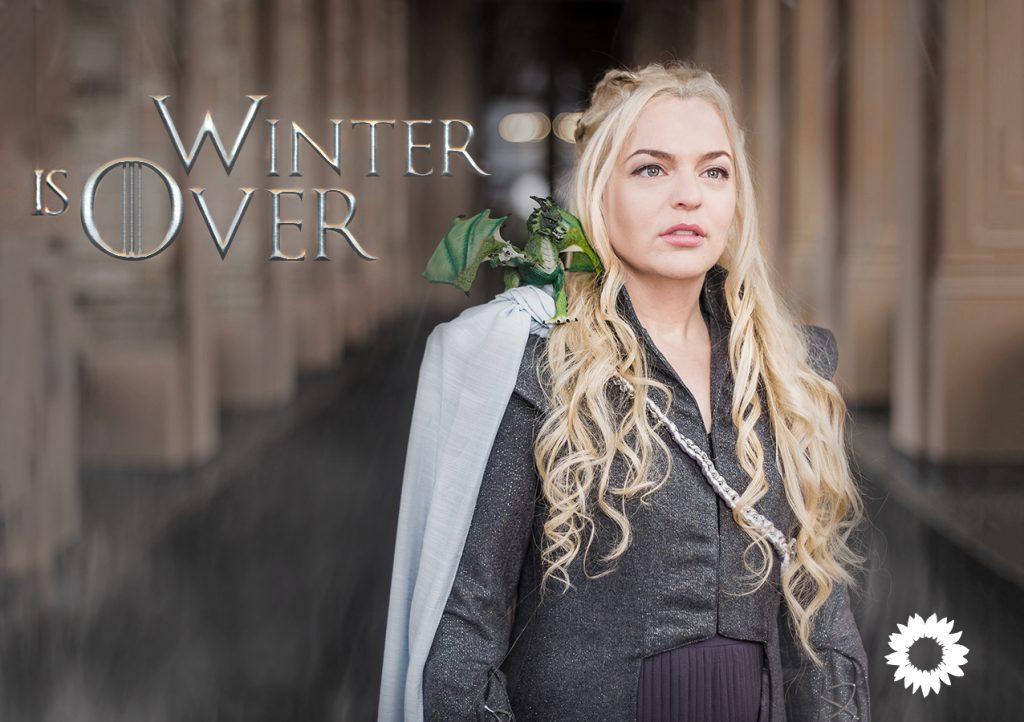 Katharina Schulze als Daenerys Targaryen aus Game of Thrones | Foto: Andreas Gregor