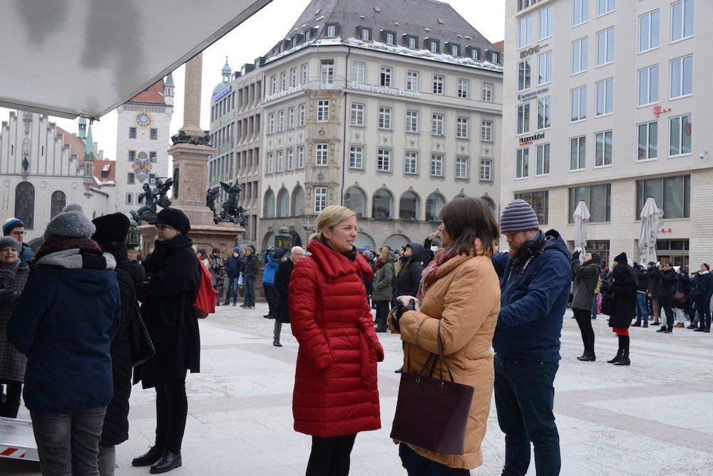 Katharina Schulze im Gespräch über bayerische Gleichstellungspolitik.