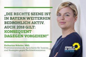 Katharina Schulze - Lagebild Rechtsextremismus 2017