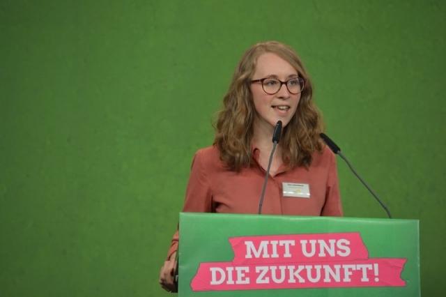 Grüne Jugend Chefin Eva Lettenbauer kämpft für junggrüne Inhalte