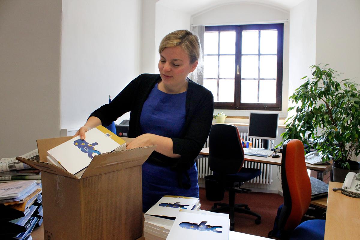 Im Einsatz für Bayern im Augsburger Europa-Büro