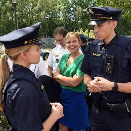 Bayerische Bereitschaftspolizei: Mit Sicherheit anders.