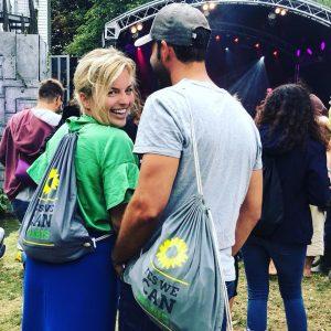 August: Festival in Schwaben, auch dort mitgearbeitet. Hat Spaß gemacht!