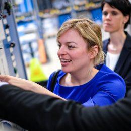 Zu Besuch bei ebm-past, Weltmarktführer aus Landshut