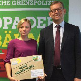 Grüne klagen gegen Bayerische Grenzpolizei