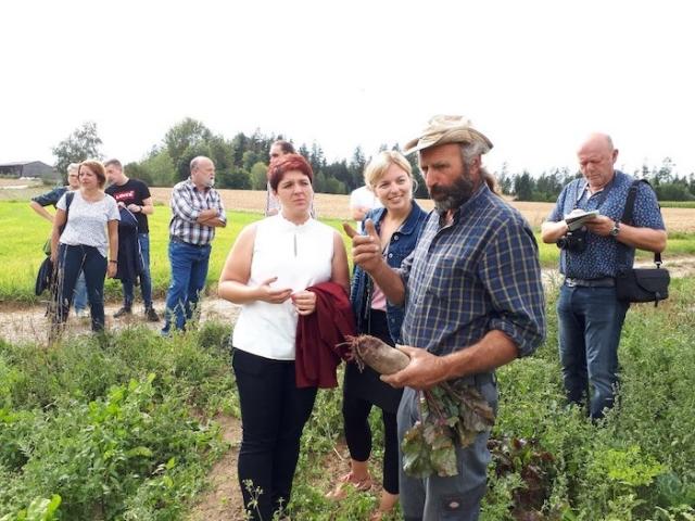 Auf dem Demeter-Bauernhof Köstler in Ebnath