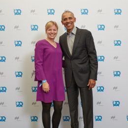Immer inspirierend: Mein drittes Treffen mit Obama