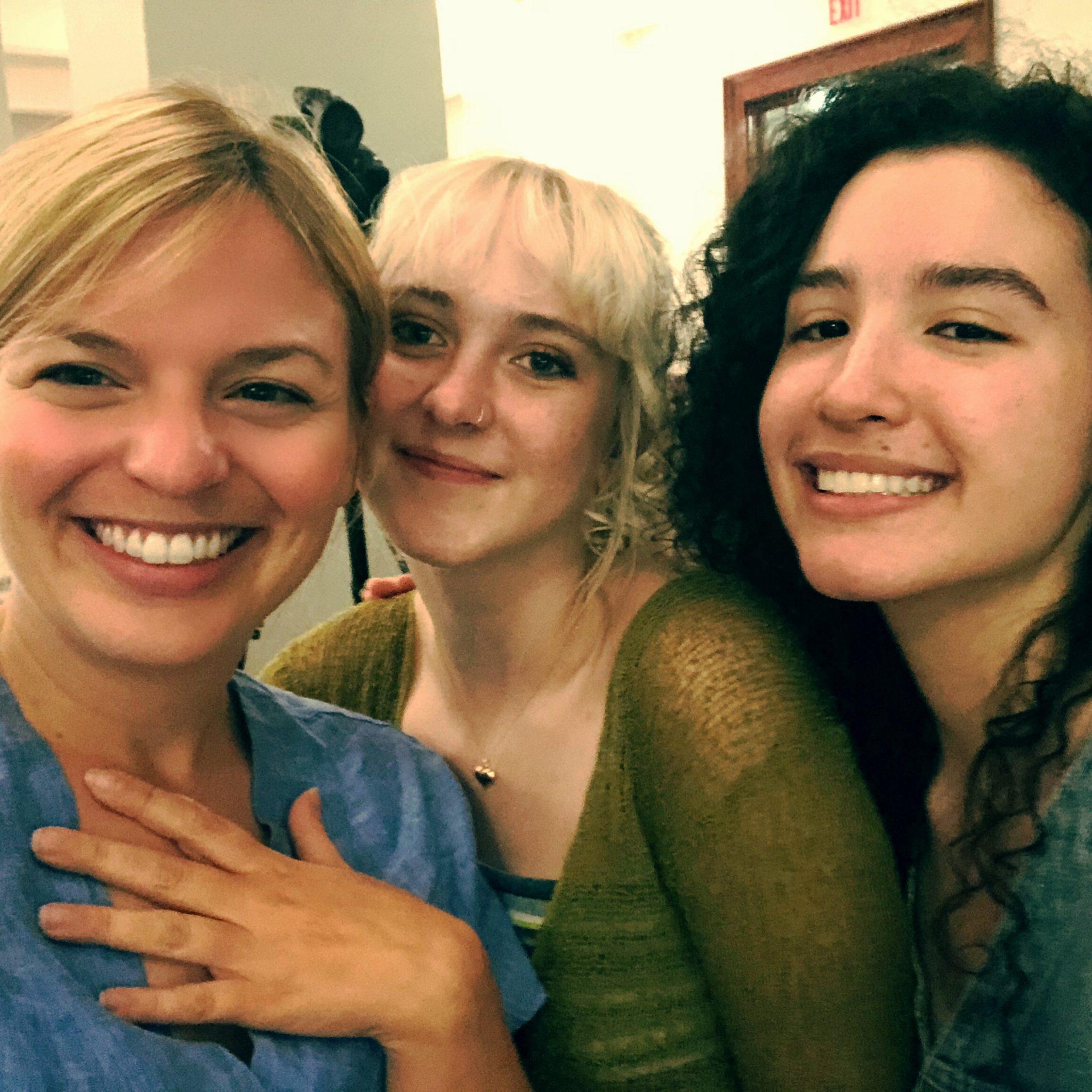 Mit den beiden Fridays for Future Aktivistinnen Leandra Mira und Sarah Hart