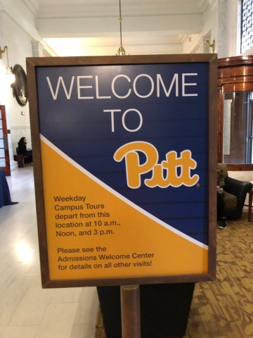 Hallo: University of Pittsburgh!