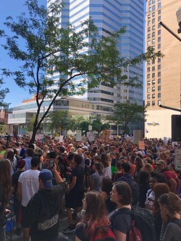 Klimastreik in Pittsburgh