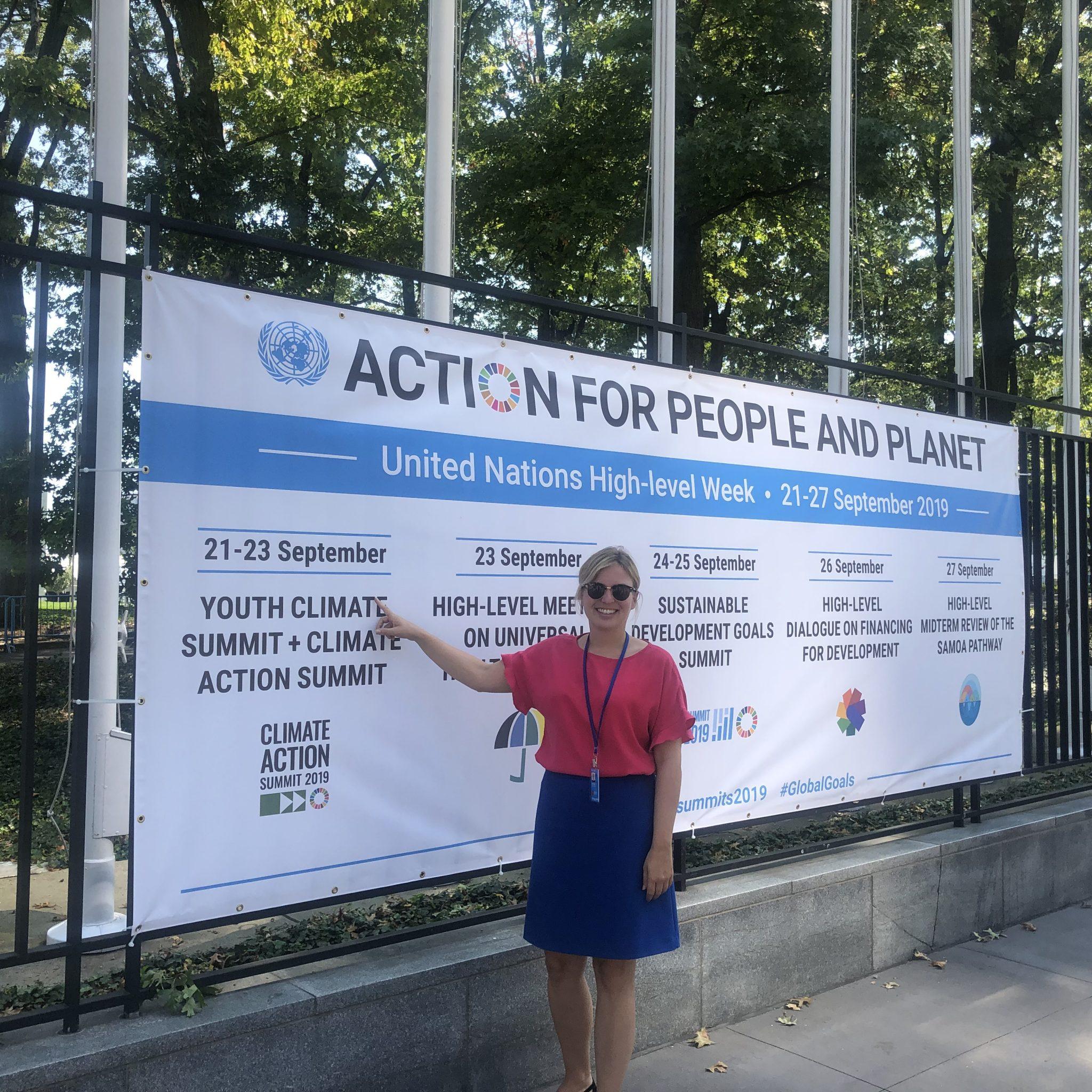 Während des UN Climate Summit finden viele Nebenveranstaltungen statt
