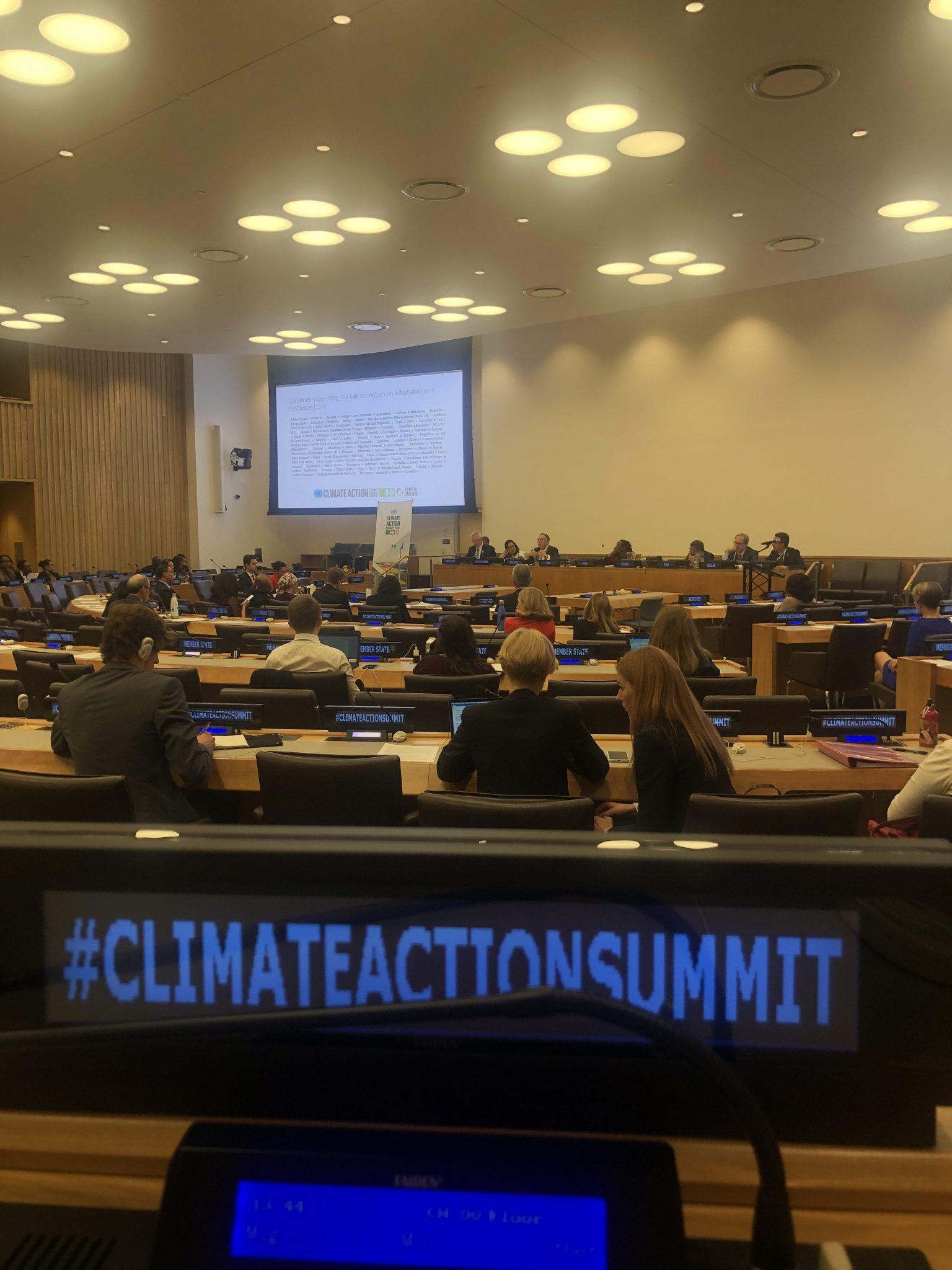 Beim Climate Action Summit