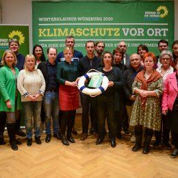 Grüne Winterklausur in Würzburg: Klimaschutz vor Ort