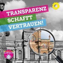 Coronapolitik mit Transparenz und Kontrolle