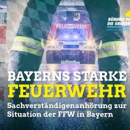 Landtag befasst sich mit Situation und Zukunft der Feuerwehr