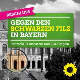Klare Regeln gegen den schwarzen Filz in Bayern